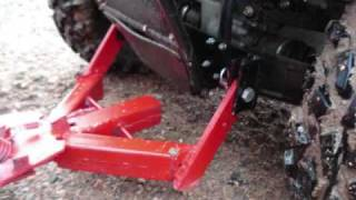 getlinkyoutube.com-Homemade ATV Plow
