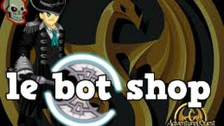 getlinkyoutube.com-=AQW= How to Open Shop At Le Bot or Dark Mystic !!!