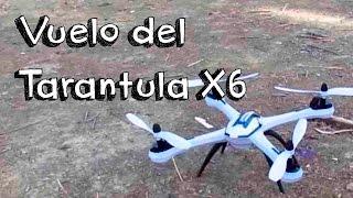 getlinkyoutube.com-VUELO JJRC YIZHAN TARANTULA X6 DRONE ESPAÑOL: Mejor drone potente rapido calidad precio