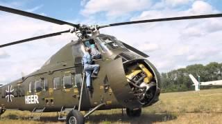 getlinkyoutube.com-Sikorsky S58 Heli Rollout bei Meravo in Oedheim