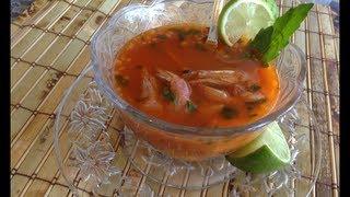 getlinkyoutube.com-Caldo de camaron seco   deliciosa receta