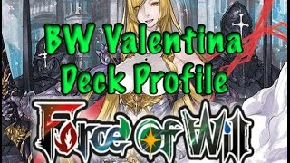 getlinkyoutube.com-Force of Will (TCG) Deck Profile: Blue/White Valentina