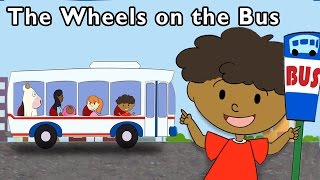 getlinkyoutube.com-Vehicle Songs | The Wheels on the Bus and More | Baby Songs from Mother Goose Club!