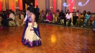 getlinkyoutube.com-Story Told Through Bollywood Dance At Wedding Reception