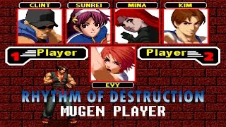 THE KING OF FIGHTERS RHYTHM OF DESTRUCTION OPENBOR