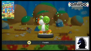 getlinkyoutube.com-Wii U Amiibo - Yoshi's Woolly World - Splatoon, Party & Non-Yarn Yoshi!