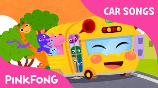 getlinkyoutube.com-Bus Song | The Wheels on the Bus | Car Songs | PINKFONG Songs for Children