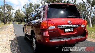 getlinkyoutube.com-2014 Toyota LandCruiser Sahara V8 0-100km/h & engine sound