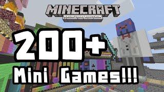 getlinkyoutube.com-Minecraft Xbox 360 - 200+ Mini Games IN ONE WORLD!!