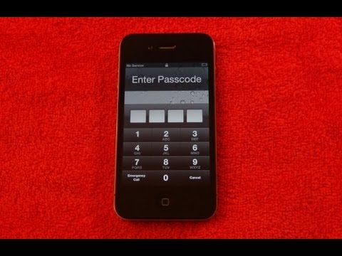 How To Remove PASSCODE unlock for ALL iPhone   iPod touch   iPad   & iOS devices