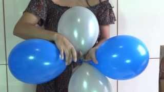 getlinkyoutube.com-Dica para as mamães que querem fazer a festa do seu filho - Como fazer arco de balões