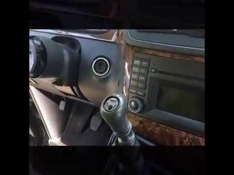 So entfernen Sie den Schaltknauf Mercedes Benz  Viano w639  facelift