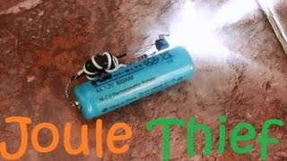 "getlinkyoutube.com-How To Make a ""Joule Thief"""