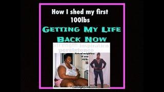 getlinkyoutube.com-How I shed my first 100lbs (Weight Loss Journey)