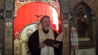 Проповедь по запричастном стихе протоиерея Кирилла Попова 2015 02 13