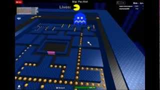 getlinkyoutube.com-roblox: pacman gameplay
