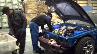 getlinkyoutube.com-プライベーター R33 GT-R エンジンオーバーホール