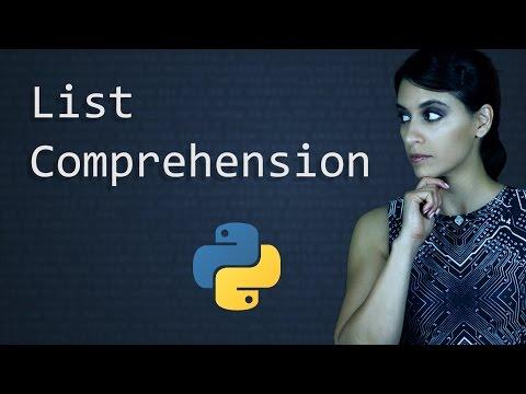 List Comprehension - Python - Learn Python Programming  (Computer Science)