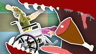 getlinkyoutube.com-EATEN BY A MONSTER!! | Happy Wheels