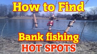 getlinkyoutube.com-How to find GREAT bank fishing spots anywhere