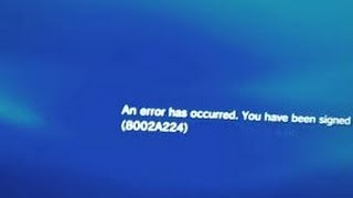 getlinkyoutube.com-How to fix PS3 error 8002a224