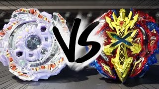 getlinkyoutube.com-BATTLE: Beast Behemoth .H.H VS Xeno Xcalibur .M.I - Beyblade Burst!