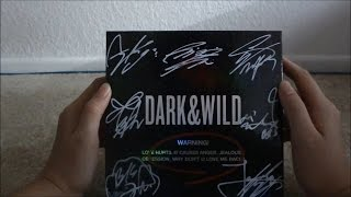 getlinkyoutube.com-ASMR Unboxing BTS Dark & Wild Signed Album [Page Turning/Flicking/Rubbing, Tapping, Whispering]