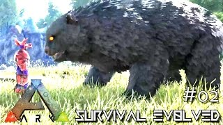 getlinkyoutube.com-ARK: ANNUNAKI GENESIS MOD - ALPHA DIRE BEAR TAMING !!! E02 (Gameplay POOPING EVOLVED)