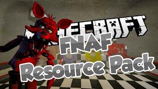 getlinkyoutube.com-FNAF Resource Pack! - Five Nights At Freddy's Based Texture Pack Showcase & Download (1.8.3)