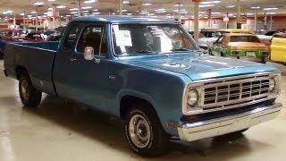 getlinkyoutube.com-1974 Dodge D100 5.7 Hemi V8 Five Speed Auto Custom Pickup