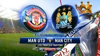 getlinkyoutube.com-PES 2013 Manchester City VS Manchester United en Vivo ESPN HD