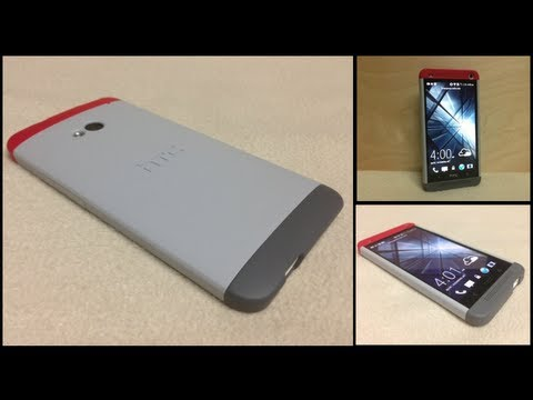 Estuche original HTC One Double Dip Hard Shell (Video)