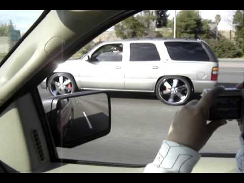 Tahoe Slammed Floatin' On 26'snot Spinners! Wilwood Brakes