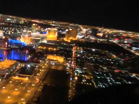 Helicopter Flight over the LasVegas Strip
