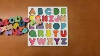 getlinkyoutube.com-Janod's puzzle alphabet