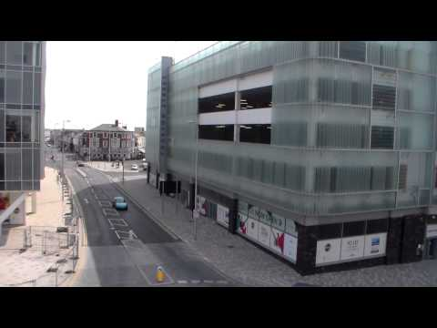 Talbot Rd Gateway-Car Park- opens,Blackpool.2014