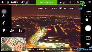 Phantom 3 standard , Range and altitude test  in the city