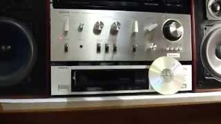 getlinkyoutube.com-ONKYO DX-150 + HITACHI HA-5300 + kirksaeter monitor 100