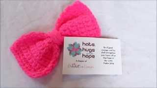 getlinkyoutube.com-Crochet Bow Pattern