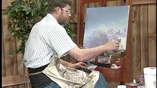 getlinkyoutube.com-Painting clouds and thunderheads with Jerry Yarnell (29 minute episode)
