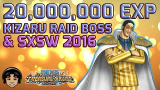 getlinkyoutube.com-Kizaru Raid & Free 20 Million EXP! [One Piece Treasure Cruise]