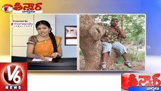 getlinkyoutube.com-Savitri Funny Conversation With Bithiri Sathi || Radha Mohan Singh On Farmer Deaths || Teenmaar News