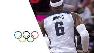 getlinkyoutube.com-USA v AUS - Men's Basketball Quarterfinal | London 2012 Olympics