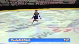 getlinkyoutube.com-Nicole RAJICOVA (SVK) SP @ Four National Championships 2016