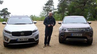 getlinkyoutube.com-Land Rover Discovery Sport vs Kia Sorento | TELEGRAPH CARS