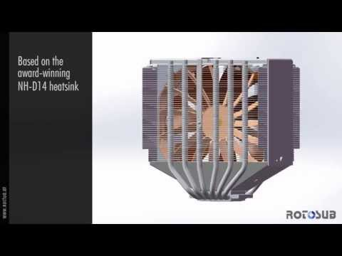 World's 1st CPU cooler with Active Noise Cancellation (Computex Taipei 2013 Prototype)