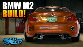 getlinkyoutube.com-NFS 2015 Custom Cars: BMW M2 COUPE CUSTOMISATION! - Best Starter Drift Car?