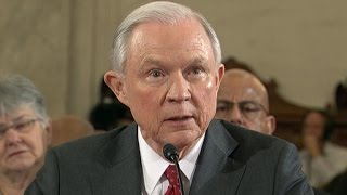 "getlinkyoutube.com-Jeff Sessions reacts to being called a ""bigot"""
