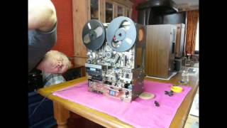 getlinkyoutube.com-AKAI X-2000SD (part 5)Open Reel, Cassette, 8-Track Combi... (HD) Cleaning, Repair and Service.