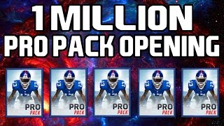 getlinkyoutube.com-1 Million Pro Pack Opening!- Madden Mobile 16